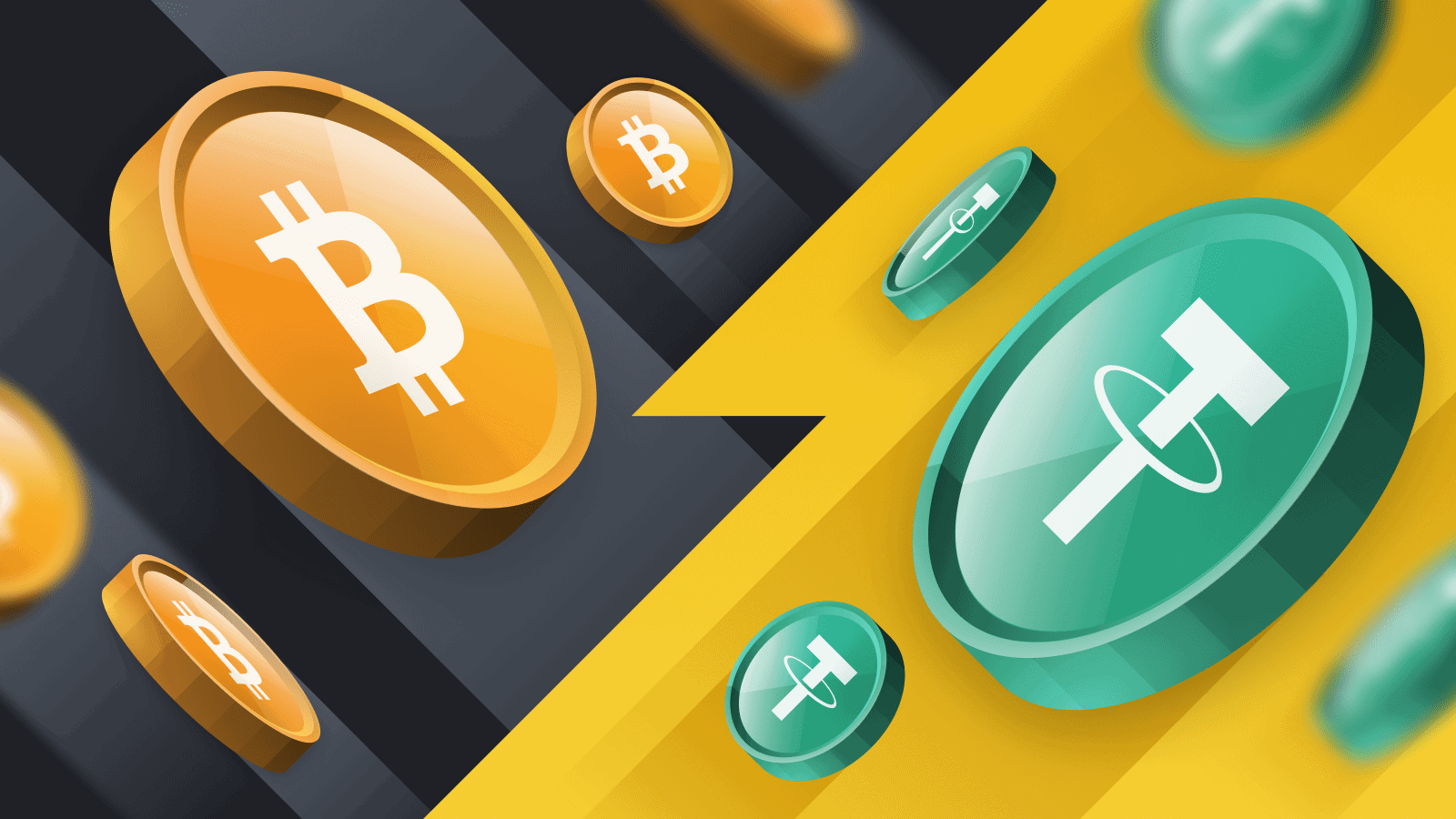 How to convert bitcoin to USDT on Kraken?